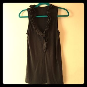 Jcrew ruffled tank